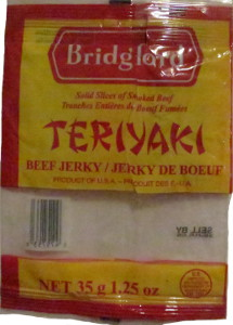 Bridgford - Teriyaki Beef Jerky