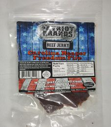 The Patriot Brands Jerky - Carolina Reaper Freedom Fire Beef Jerky